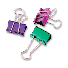 Baumgartens Metallic Binder Clips