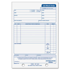 Adams Job Work Order Book