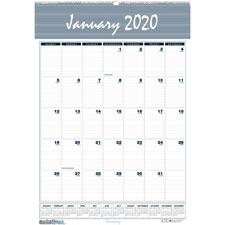 Doolittle 12-Month Wirebound Wall Calendars