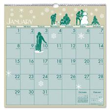 Doolittle Classic Illustrated Wall Calendar