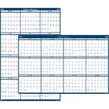 Doolittle Vert./Horizontal Laminated Wall Calendar
