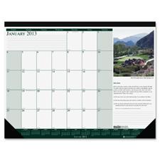 Doolittle Eco-friendly Golf Calendar Desk Pads