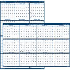 Doolittle Academic Wall Calendar
