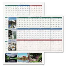 Doolittle Laminated Wall Calendar