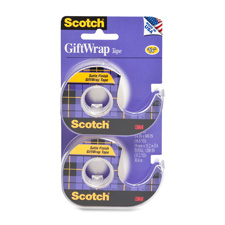 3M Scotch 3/4 Double Pack GiftWrap Tape