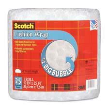 3M Scotch 1/2 Bubble Cushion Wrap