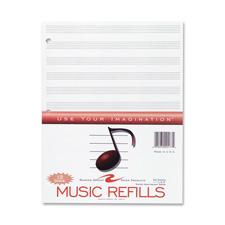Roaring Spring Music Filler Paper