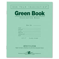 Roaring Spring Wide-ruled Exam Book