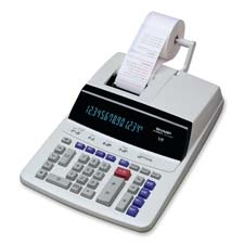 Sharp 14-Digt 2-Color Printing Bus. Calculator