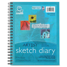 Pacon Artist Sketch and Drawing Diaries