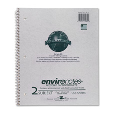Roaring Spring Wirebnd 2-sub College Rule Notebook