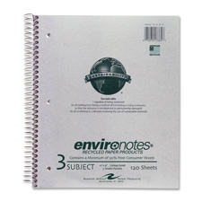 Roaring Spring Rec Wirbnd 3-sub Coll Rule Notebook