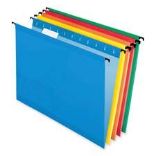 Esselte 1/5 Cut Letter Size Hanging File Folders