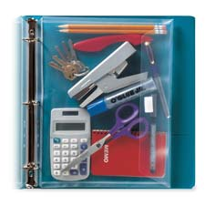 Itoya 3-ring Binder Poly Envelope