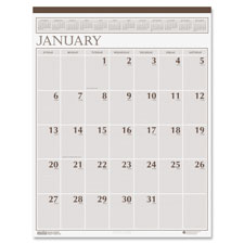 Doolittle 3-Hole Punched Classic Wall Calendar
