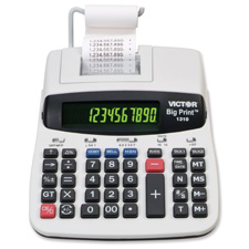 Victor 10 & 12-digit Thermal Printing Calculator