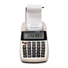 Victor 12-digit Portable Printing Calculator