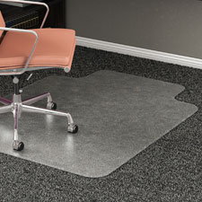 Lorell Carpet Chairmat w/ Lip