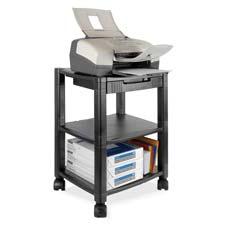 Kantek Three-shelf Mobile Printer/Fax Stand