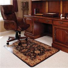 Deflect-O Low-pile Carpet Decorative Chairmat