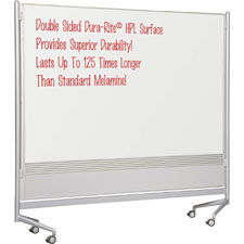 Balt Mobile Dry-erase Double-sided Partition