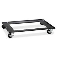 "Commercial cabinet dolly, 5-1/2""x27""x5-1/2"", black, sold as 1 each"