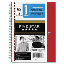 Mead Five Star Personal Wirebound Notebook