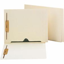 Smead End Tab Fastener Folder w/ Full Pocket