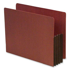 SJ Paper Expanding Red Rope File Pockets