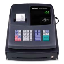 Sharp Drum Printing Cash Register