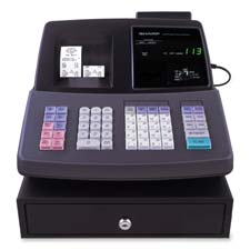Sharp Barcode Scan Cash Register