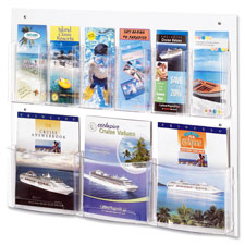 Safco Nine Compartment Magazine/Pamphlet Display