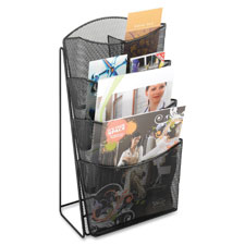Safco Steel Mesh Magazine Rack