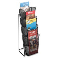 Safco Steel Mesh Pamphlet Display