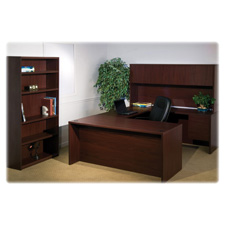 Lorell 68000 Series Mahogany Furniture Ensemble