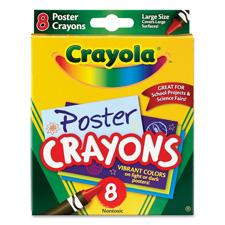 Crayola Poster Crayons