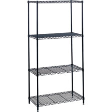 Safco 48'Wx 18'D Industrial Wire Shelving