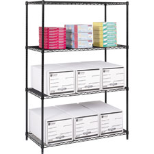 Safco 48'Wx 24'D Industrial Wire Shelving