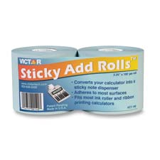 Victor 2-1/4 Wide Sticky Add Rolls