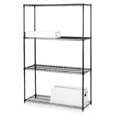 "Extra shelves,f/ wire shelving,36""x18"",2/ct,bk, sold as 1 carton"