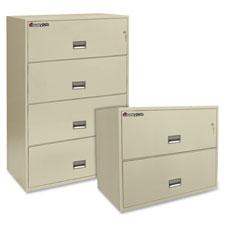 Sentry Fire Files w/ Key Lock Drawers