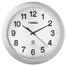 Lorell Round Profile Radio-controlled Wall Clocks