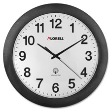 Lorell 11 Radio Controlled Wall Clock