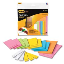 3M Post-it Super Sticky R'vbl Adhesive Label Pads