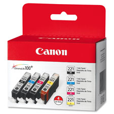 Canon CLI221CLPK Ink Cartridge