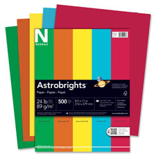 Wausau Eco Friendly Astrobrights Colored Paper