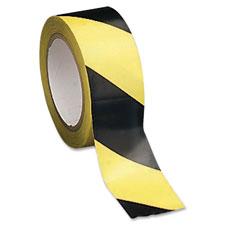 Sparco Yellow/Black Aisle Hazard Tape