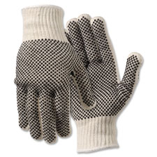 R3 Safety Poly/Cotton Medium Gloves