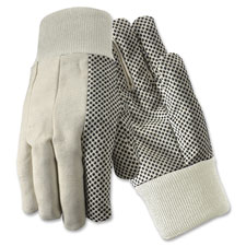R3 Safety Natural White Cotton Gloves