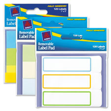 Avery Removable Label Pads